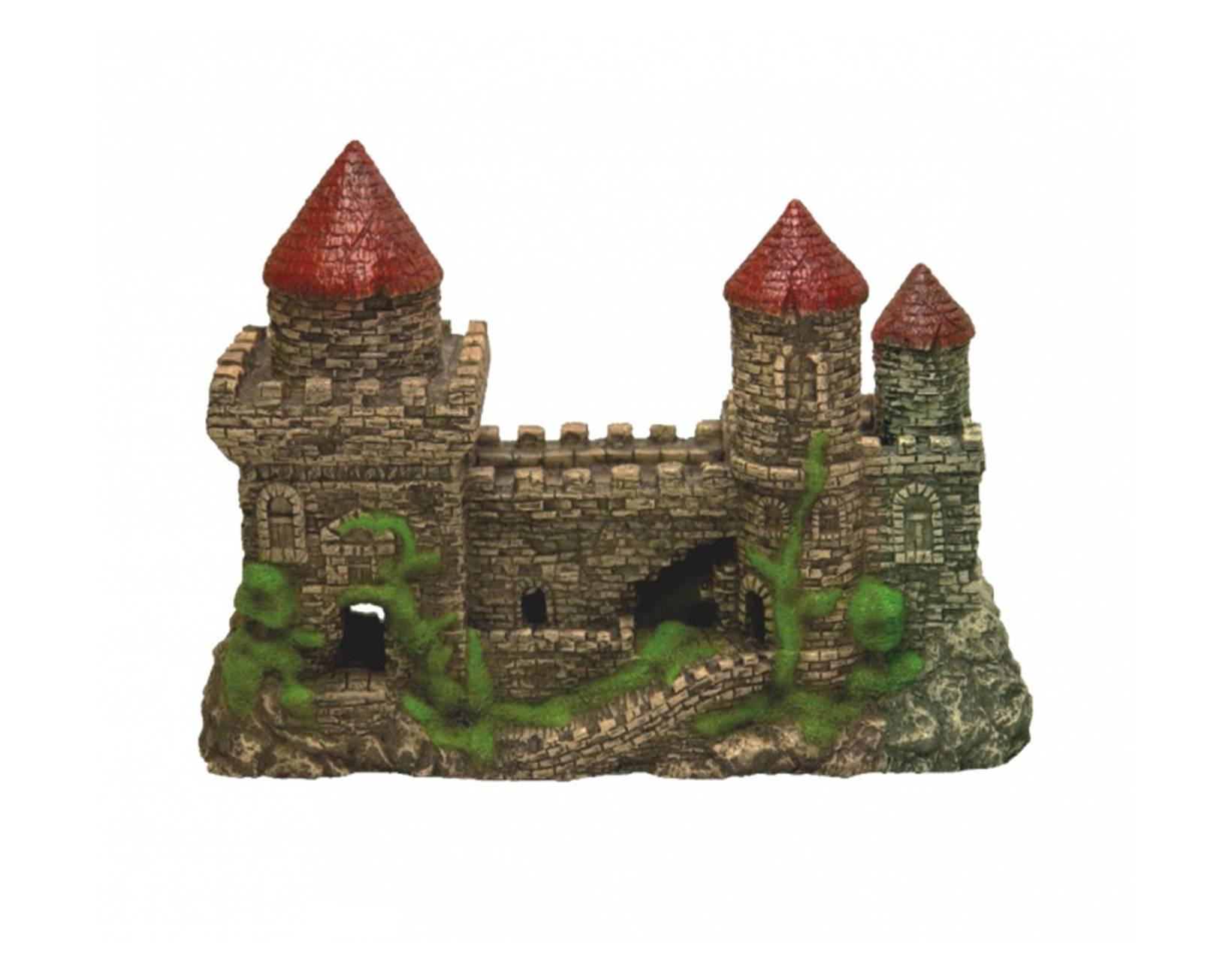 Садовые замки из камня своими руками фото